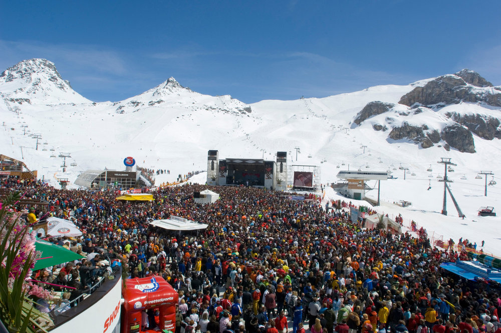 Beim Top of the mountain Konzert 2016 wird Muse auftreten - © Ischgl