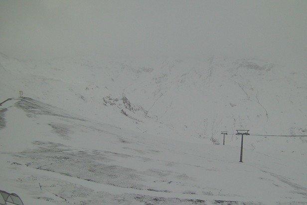 Livigno, neve fresca 14 Luglio 2016