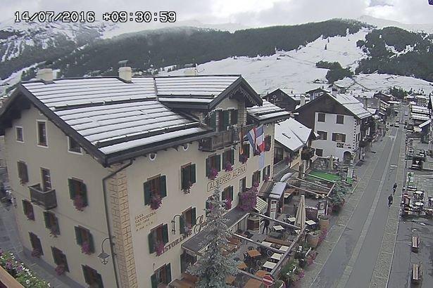 Livigno, neve fresca 14 Luglio 2016 - © Livigno