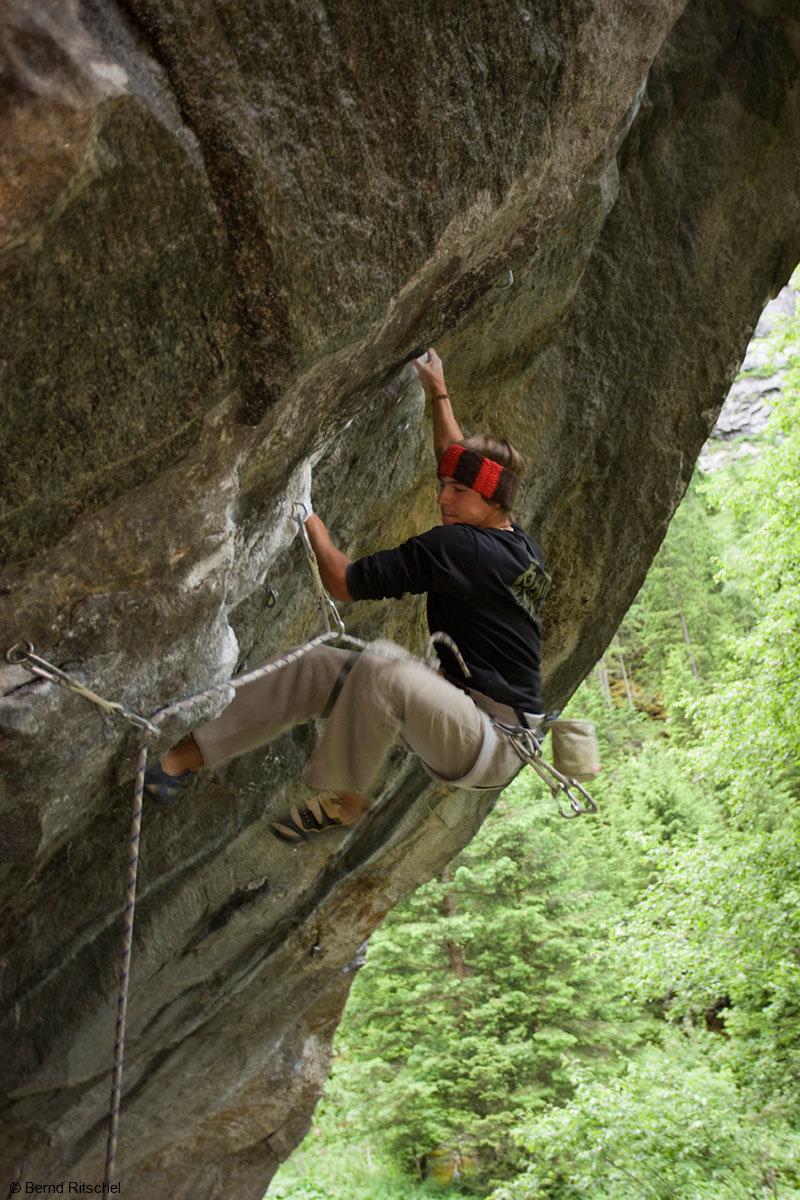 Bouldern in den ewigen Jagdgründen ist immer eine Herausforderung - © Bernd Ritschel