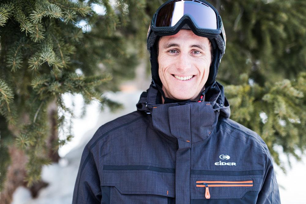 Peter Rice (26) har tidligere vunnet Race-league i USA og er en ekstremt god skikjører. Nå jobber han i Ski Utah. - © Liam Doran