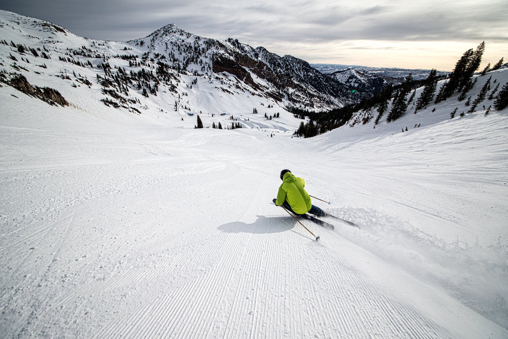 What more could a ski tester ask for? - © Liam Doran