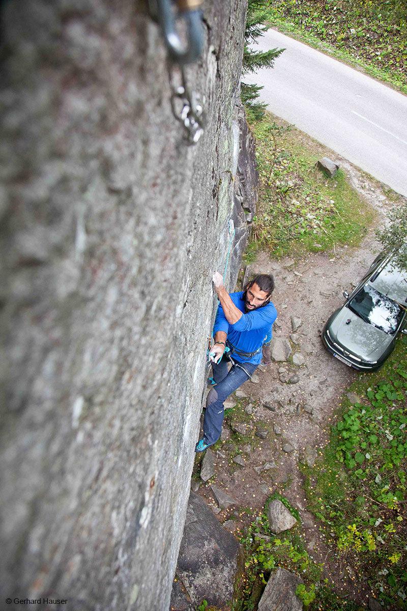 Die ewigen Jagdgründe sind eines der besten Klettergebiete Österreichs - © Gerhard Hauser