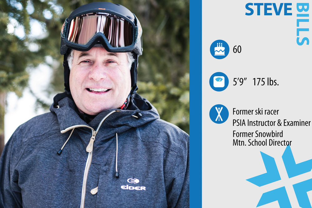 "Steve Bills. Job in real life: General Manager Canyon Services, Inc. Something from ski history that should make a comeback: ""The warming blankets at Sun Valley. They were nice and cozy."" - © Liam Doran"