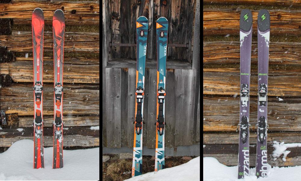 Test: K2 iKonic 85Ti, Blizzard Brahma 88 und Völkl RTM 86 - © Skiinfo