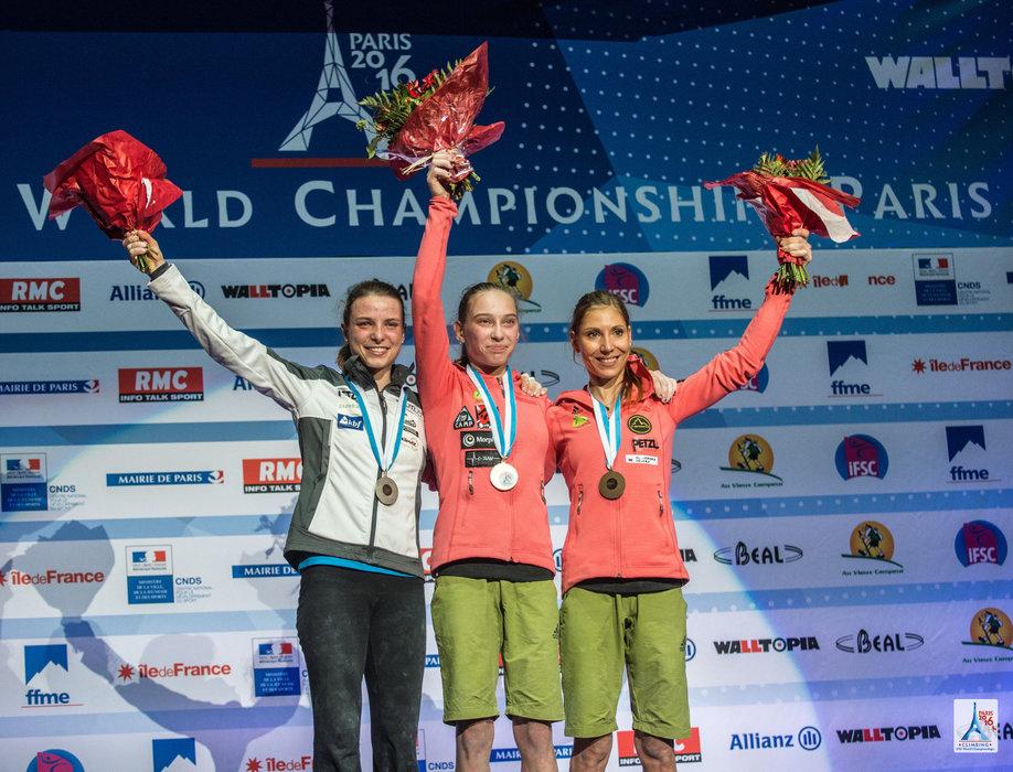 Neuer Superstar und Weltmeisterin im Klettern: Janja Garnbret (SLO) - ©FFME / Agence Kros - Remi Fabregue