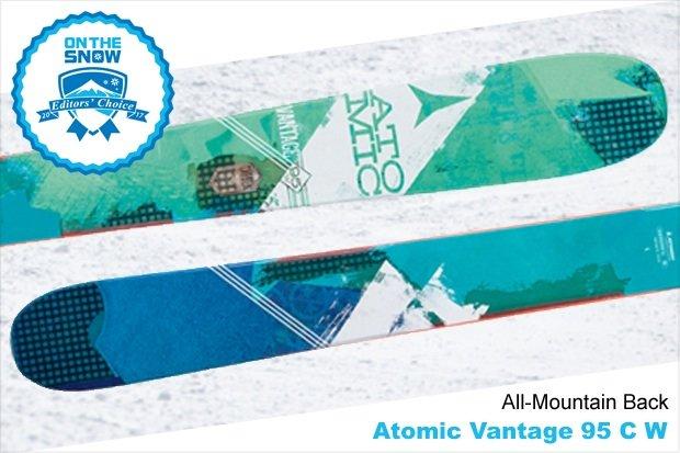 Atomic Vantage 95 C W, women's 16/17 All-Mountain Back Editors' Choice ski. - © Atomic