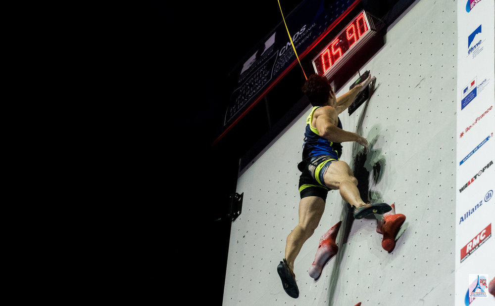 Impressionen aus dem Speed-Finale - © FFME / Agence Kros - Remi Fabregue