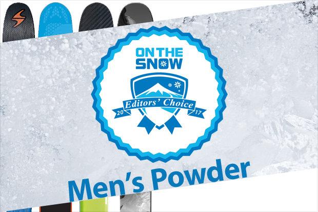 Men's 16/17 Editors' Choice Powder skis.
