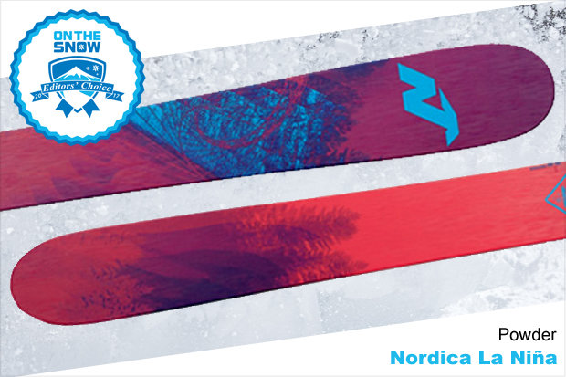 Nordica La Nina, women's 16/17 Powder Editors' Choice ski. - © Nordica