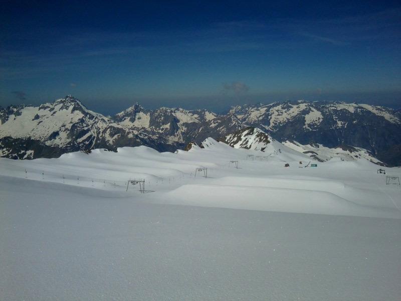 Glacier Gletscher Les 2 Alpes - © Les 2 Alpes
