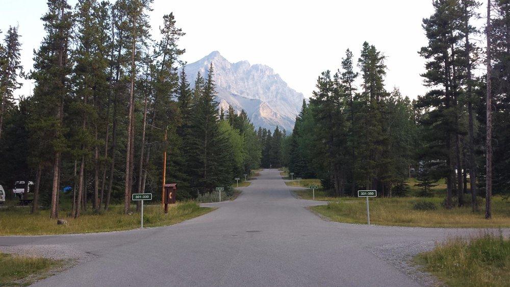 Tunnel Mountain Trailer Court Campground Sunshine Village