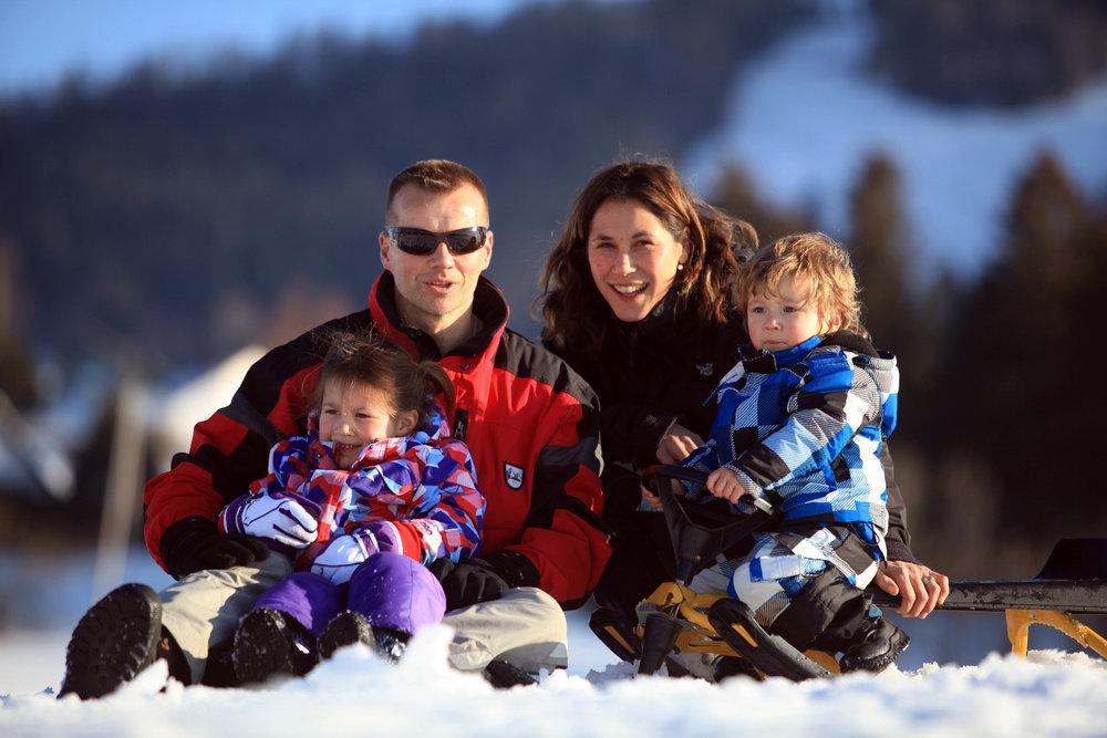 Séjour au ski en famille dans la station de Métabief - © Station de Métabief
