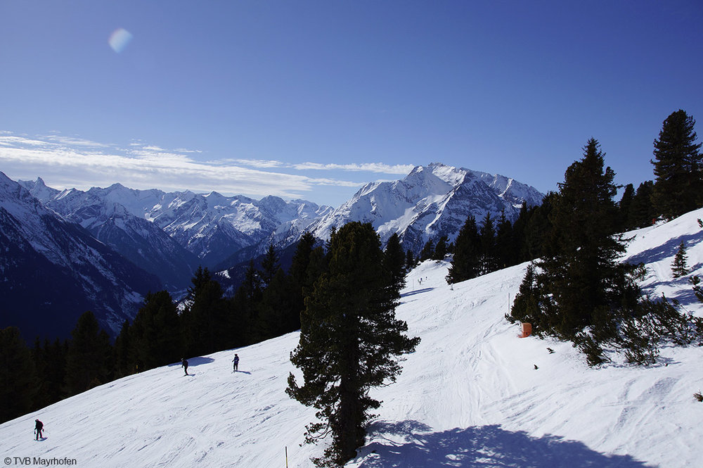 Beautiful views in Mayrhofen - © TVB Mayrhofen