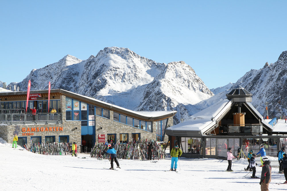 Gamsgarten na Stubaiském ledovci - © Skiinfo