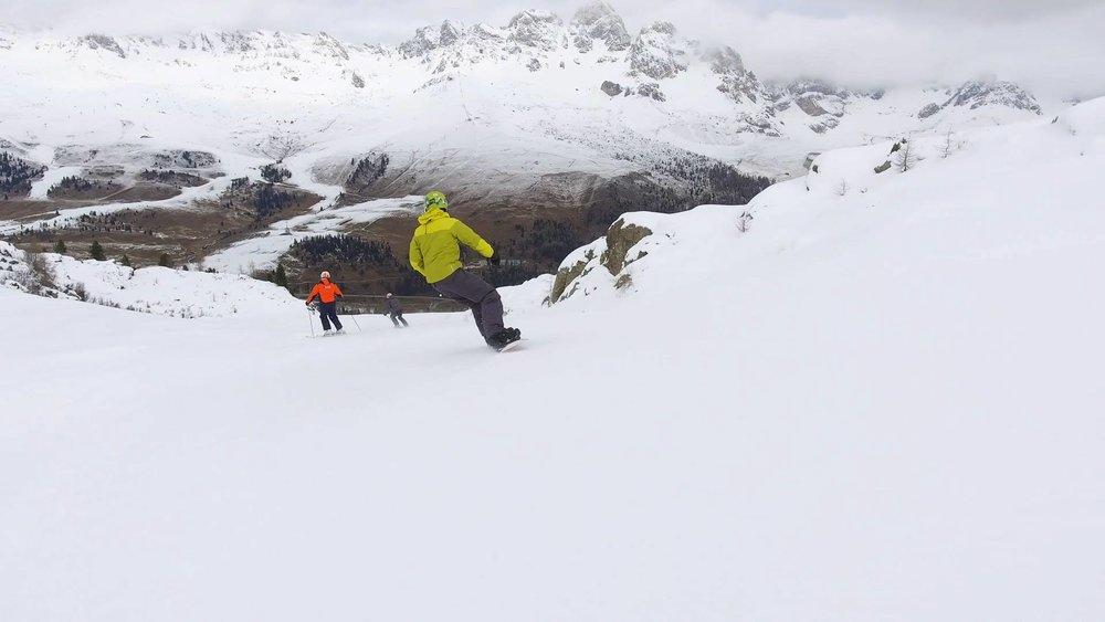 La VolatA - Nuovo tratto della pista della Skiarea San Pellegrino - © Ski Area San Pellegrino Facebook