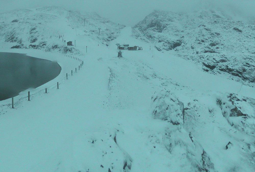 Alpe d'Huez 13.10.2016 - © Facebook Alpe d'Huez
