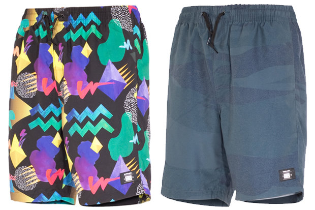Armada Hot Tubbers Shorts: $49.95 If you're looking to make a statement around the ski chalet, look no further than Armada's latest trunks. These 20-inch shorts offer a variety of clutch features, including beverage compatible pockets, elastic waistband and a tethered bottle opener. Available in two fun colorways.