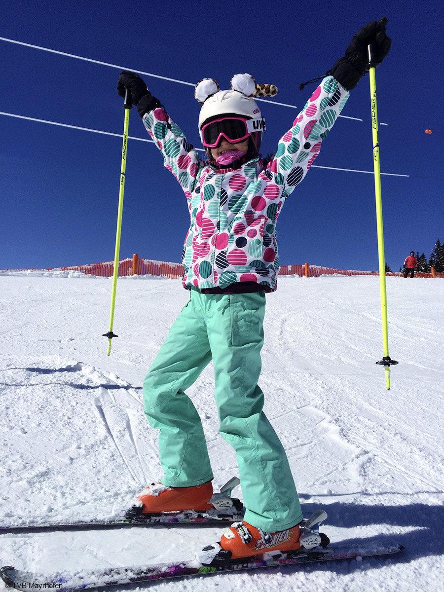 Da steigt Freude in den Kindern auf und sie können sich so richtig austoben - © TVB Mayrhofen/Eva Wilhelmer/Gabi Huber
