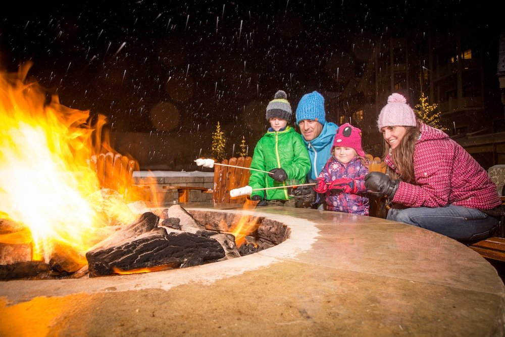 Perfecting the art of the perfect mallow. - © Deer Valley Resort