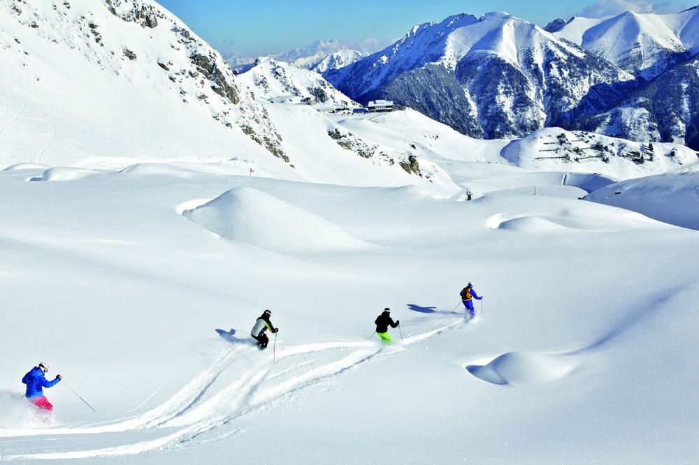 Freeriden in Sportgastein - © Gastein Tourismus