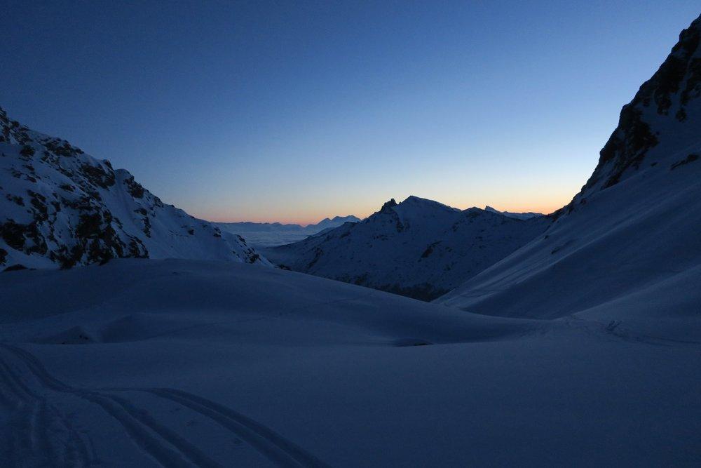 Utrolig vakkert lys i morgentimene. - © Øydis Kristine Flateby
