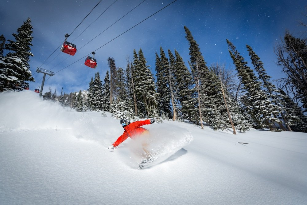 Center stage at Jackson Hole. - © Jackson Hole Mountain Resort
