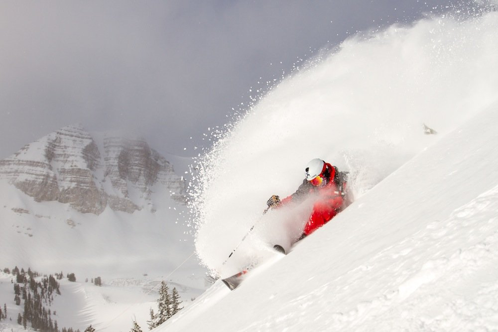 It's easy to make waves when you ski in Jackson. - © Jackson Hole Mountain Resort