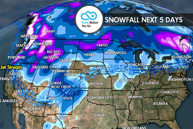 12.1 Snow Before You Go: 4 Storms to Pound Wes