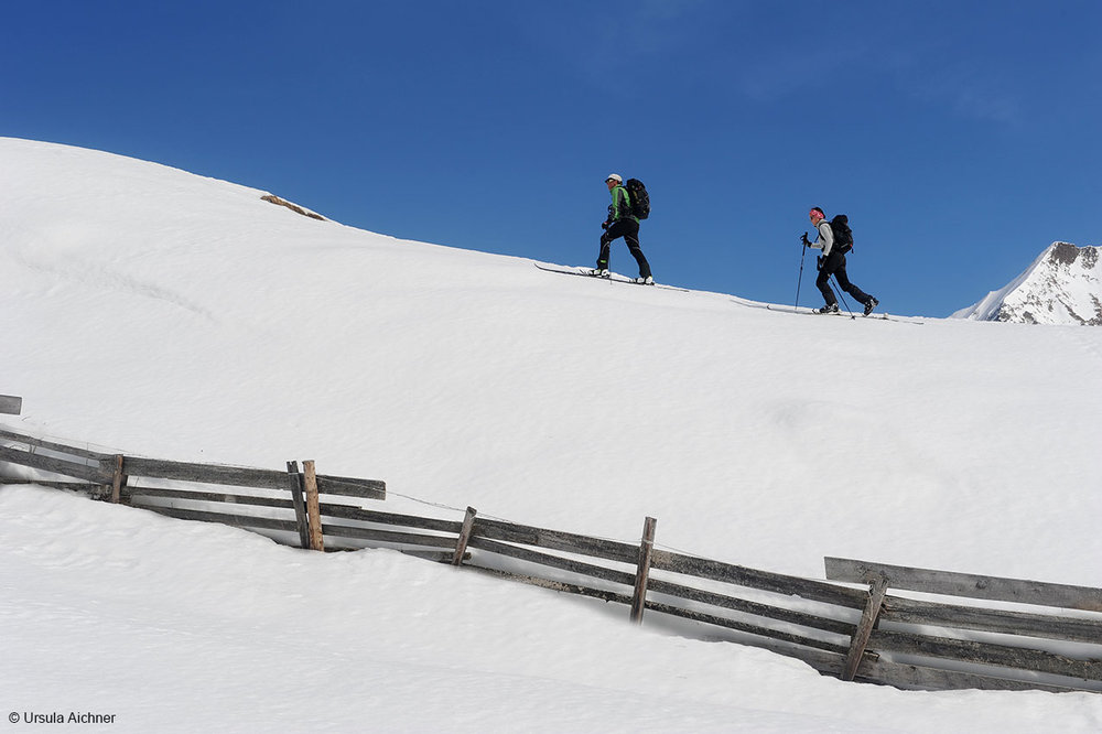 Skibergsteigen in Mayrhofen - © Ursula Aichner