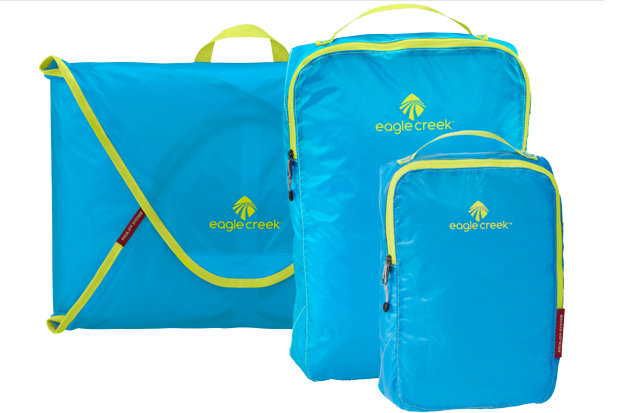 Eagle Creek Pack-It Specter™ Starter Set: $58.95 Offered in 10 awesome colorways, packing ski trip necessities has never been so efficient. Organize, fold and compress all those ski and lifestyle layers to max out suitcase space.