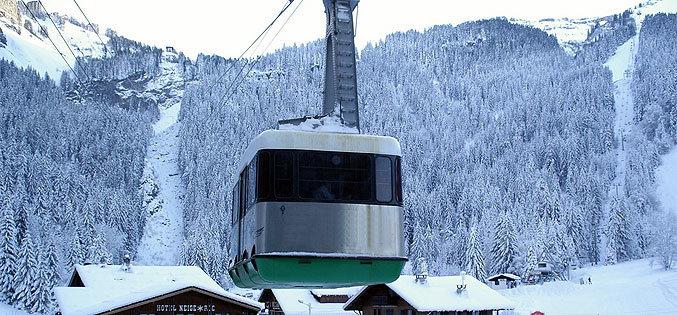 Morzine cable car, France