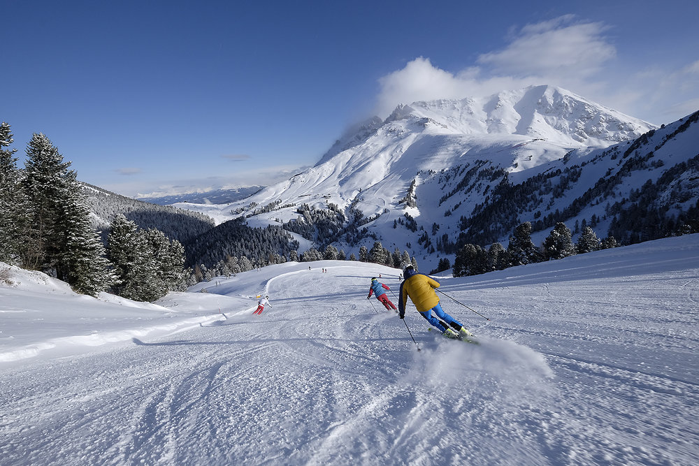 Ski Center Latemar, sci alpino - © Orlerimages per Visitfiemme.it