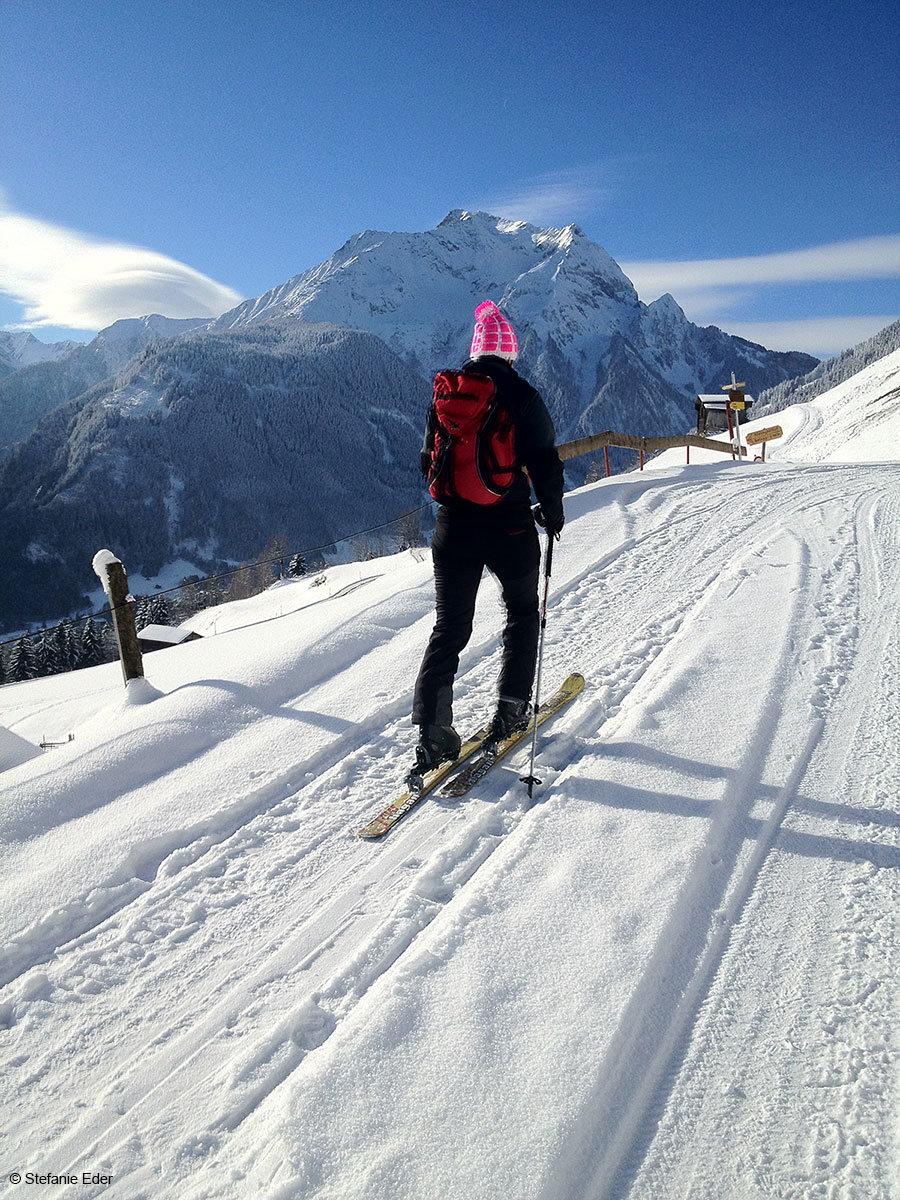 Unterwegs in der Region Mayrhofen-Hippach - © Stefanie Eder