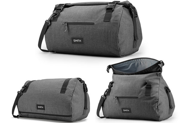 Smith Govy Duffle Bag: $65 This spacious bag will have skiers/riders on your list ski trippin' with ease. The bag features a purpose-built wet-gear section and a roll-top design for extra room to pack in just one more layer.