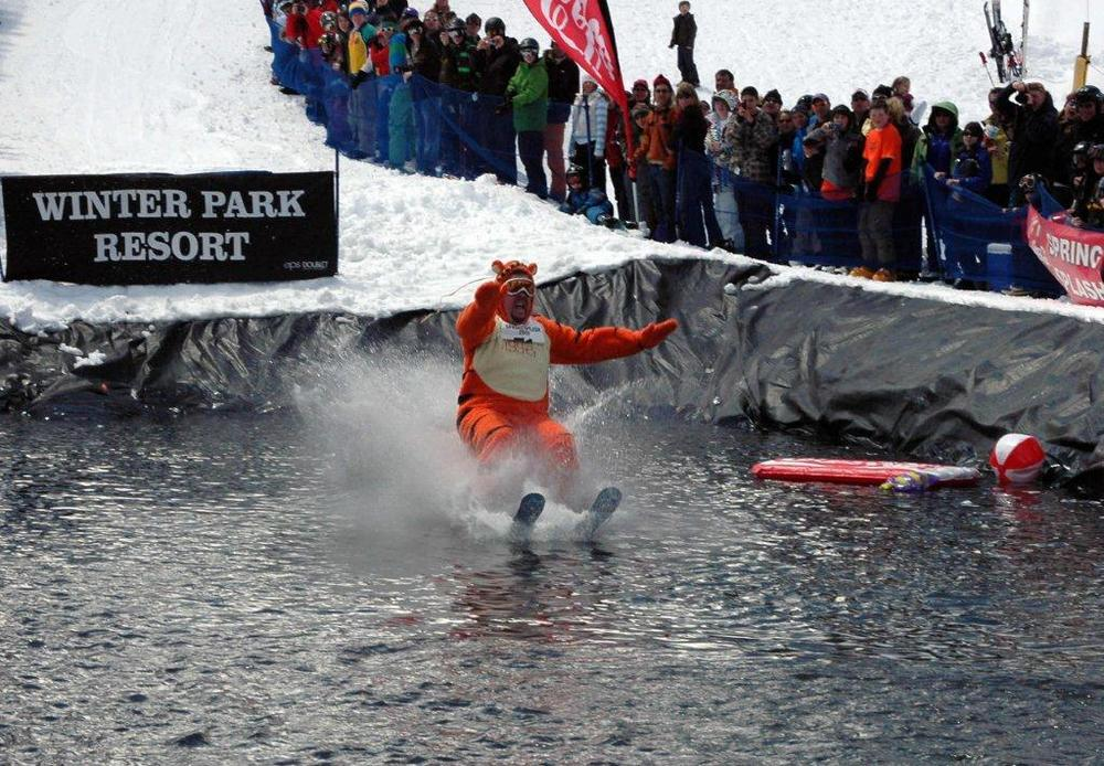 Spring Splash event at Winter Park, CO.
