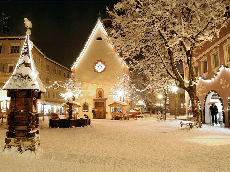 Selva's pretty centre in Val Gardena, Dolomites - © Val Gardena