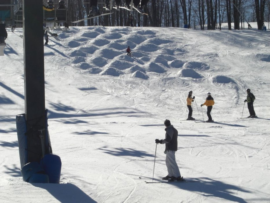 Moguls at Jack Frost, Pennsylvania