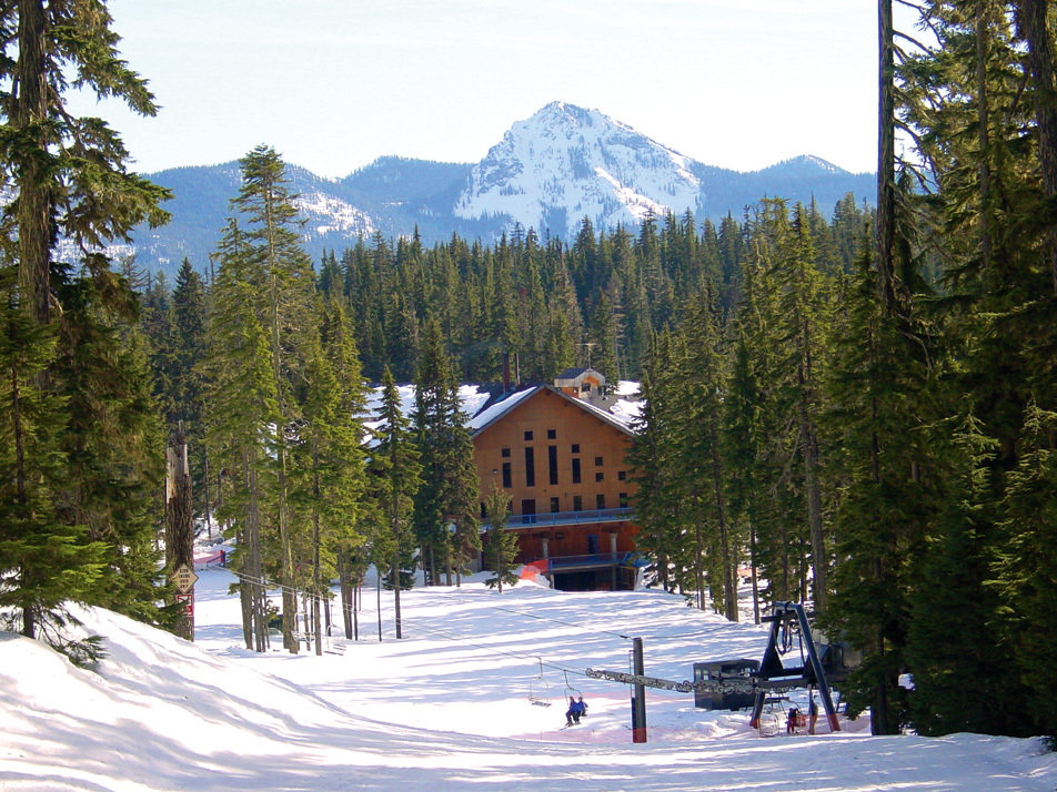 The lodge at Willamette Pass, Oregon