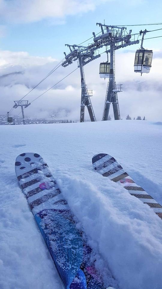35 cm nového sněhu v Megeve (28.1.19) - © Megeve/Facebook