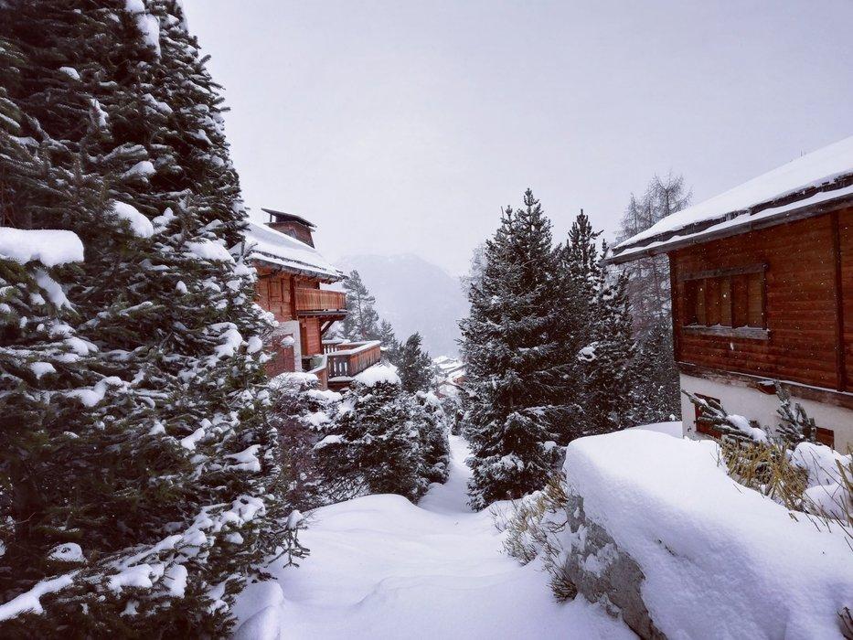 Verbier, 11. 3. - napadlo 50 cm čerstvého sněhu - © Verbier/Facebook