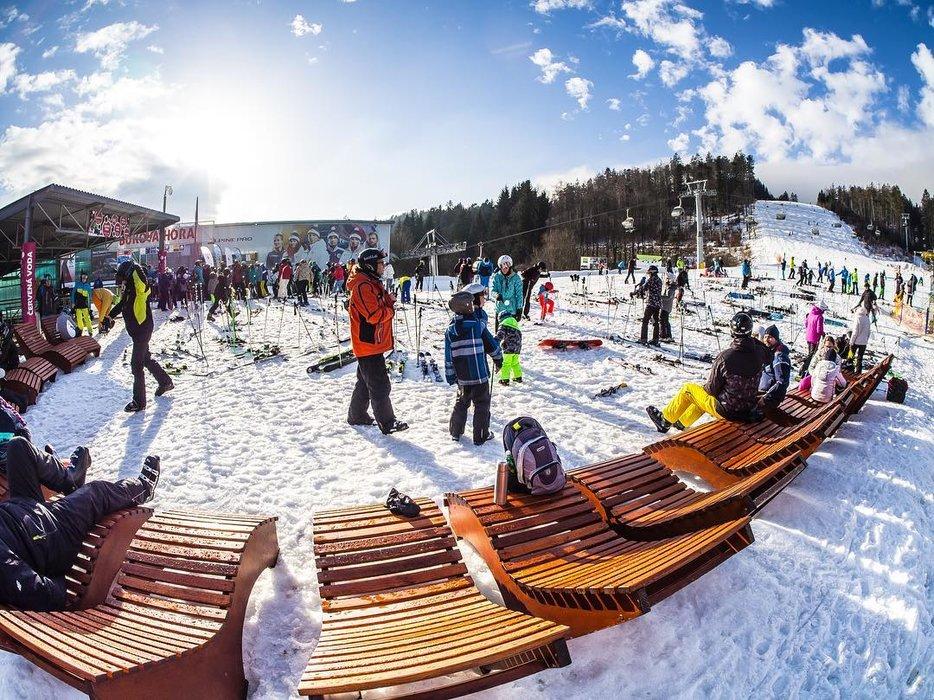 Skipark Červená Voda (Ski Buková hora) 28.12.2018 - © facebook Skibukovka