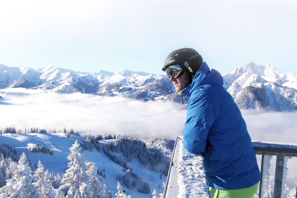 Aussichtsplattform Geisterturm Gernkogel - © Bergbahnen Alpendorf