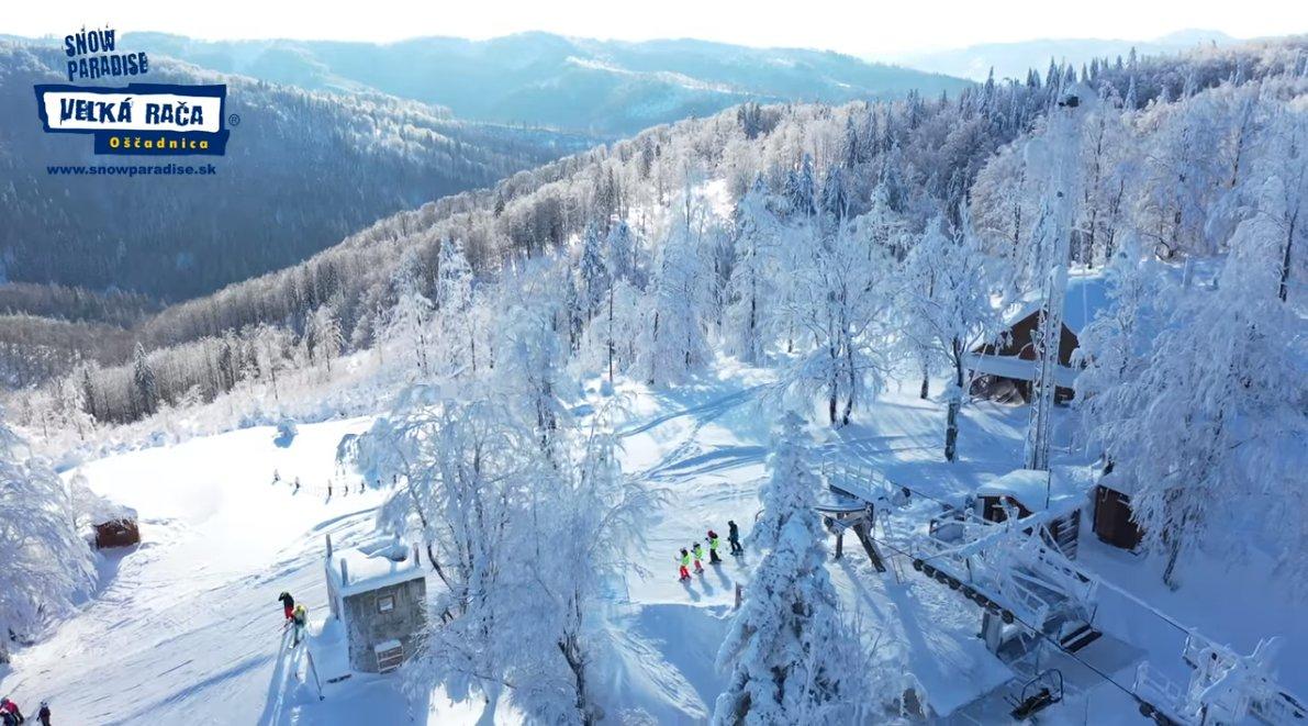 Zasnežený Snowparadise: Január 2019 - © Snowparadise Veľká Rača Oščadnica