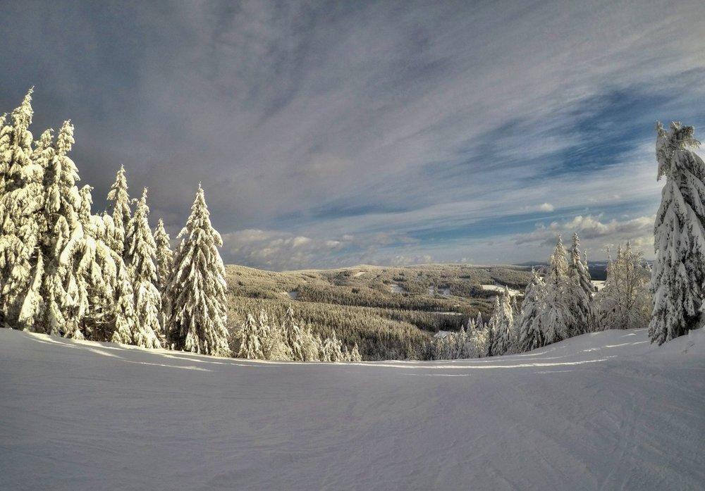 Lednové luxusní podmínky na svazích Ski centra Říčky v Orlických horách - © Říčky v Orlických horách - facebook