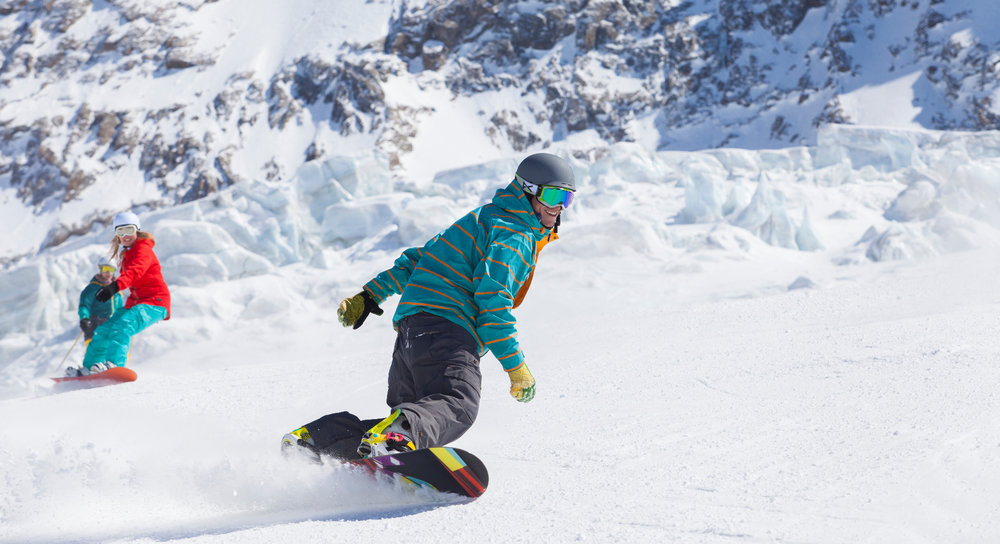 Snowboarder in Saas Fee - © Photopress/Denis Emery