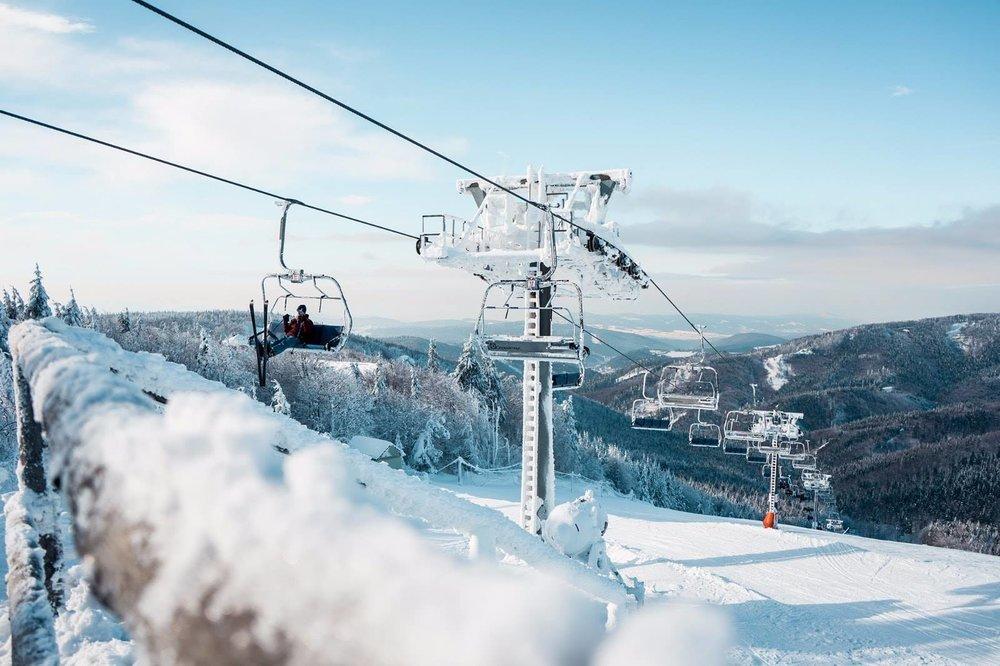 Skalka Arena a rozprávkové podmienky na zjazdovkách aj mimo ne | 17. január 2019 - © Skalka Arena