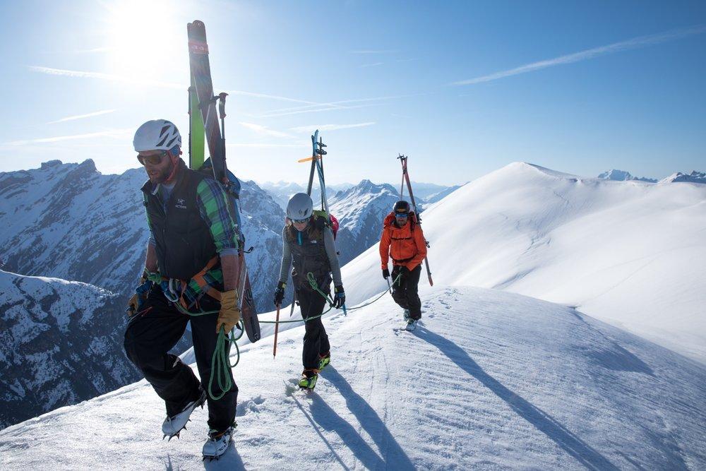 Skimountaineering in Livigno - © Samuel Confortola