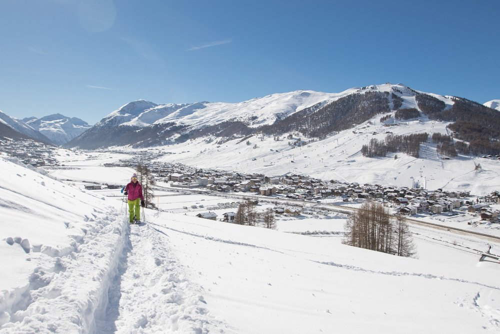 Snowshoes in Livigno - © Roby Trab