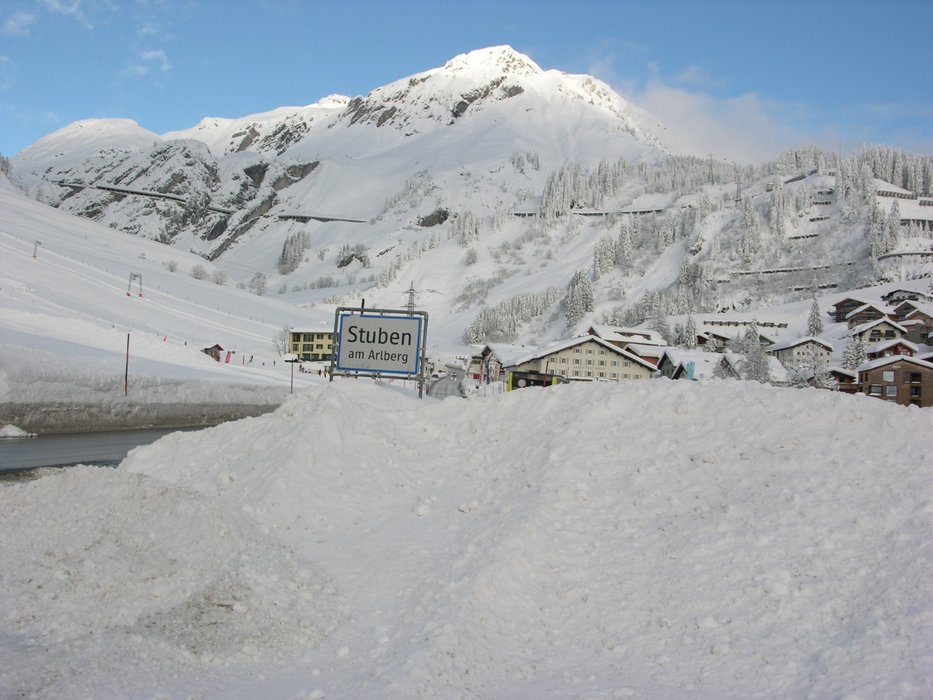 Schneereicher Januar in Stuben am Arlberg - © Tourismusbüro Stuben